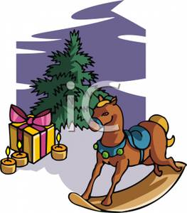 A_Christmas_Tree_Rocking_Horse_Gifts_and_Lit_Candles_on_a_Blue_Background_Royalty_Free_Clipart_Picture_101110_006885_678053.jpg