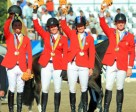 US gold medal Show Jumping team
