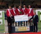 Team Germany, winners of the FEI Nations' Cup™ Top League 2011