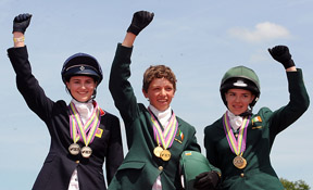 Individual Eventing Medalists