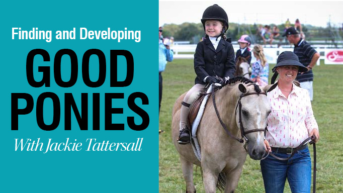 Thumbnail for Finding and Developing Good Ponies with Jackie Tattersall