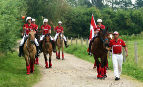 The Canadian Polocrosse Team.