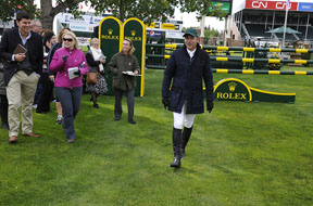 Thumbnail for Eric Lamaze Welcomes Guests on Spruce Meadows Masters Opening Day