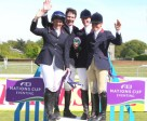 The winning British team at the Houghton Hall