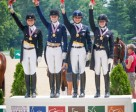 Region 7 claimed the Young Rider Dressage team title at the FEI North American Junior and Young Rider Championships 2013 in Lexington, Kentucky (USA), Picture on the podium: Teresa Adams, Ariel Thomas, Jaclyn Pepper and Jamie Pestana