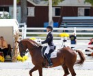 Ashley Holzer and Jewel's Adelante - First Place in the FEI Grand Prix for Special at Dressage at Devon CDI-W held Sept. 26-29, Devon, PA.