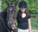 Isabelle Gauthier of New Liskeard, ON. was a 2013 OEF Youth Bursary recipient. Her goals include advancing through the levels of the Equine Canada Learn to Ride program and furthering her knowledge of natural horsemanship.