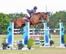 Ainsley Vince and Frieda won the $24,950 Wellington Turf Tour Invitational Grand Prix Finale.