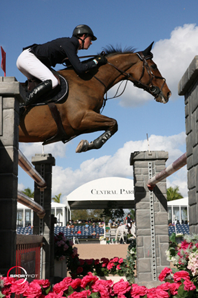 Ben Maher and Urico won the $150,000 CSIO 4* Grand Prix. Photo by Photos © Sportfot,