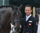 Canadian Olympian David Marcus, pictured with Chrevi's Capital, concluded his winter competition season by competing in the CDI5* Adequan Global Dressage Festival Week 12 held March 25 to 30 in Wellington, Florida. Photo by Starting Gate Communications