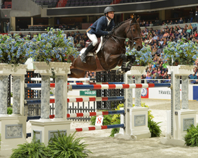 Kent Farrington, winner of the FEI World Cup™ Jumping 2013/2014 North America East Coast League. Photo by Shawn McMillen Photography