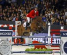 The USA's Kent Farrington and Voyeur galloped to a thrilling victory in the second leg of the Longines FEI World Cup™ Jumping Final 2013/2014 at Lyon, France tonight. Photo by FEI/Dirk Caremans