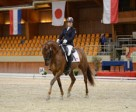 Lauren Barwick and Off Paris finished in first place in both of her tests, earning 70.882% in the Team Test and 73.086% in the Individual Championship Test.