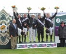 The winning Irish team in last year's Furusiyya FEI Nations Cup™. Photo by Spruce Meadows Media Services.