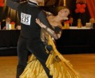 Jane Savoie dancing the tango in competition.