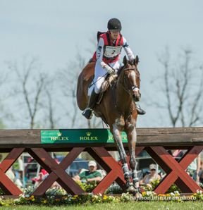 Selena O'Hanlon and Foxwood High at the 2014 CCI4* Rolex Kentucky Three Day Event. Photo by Shannon Brinkman Photography