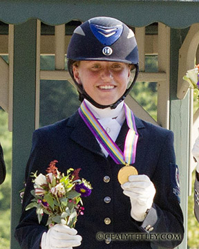 Thumbnail for More Medals for Canadian Dressage Riders at NAJYRC