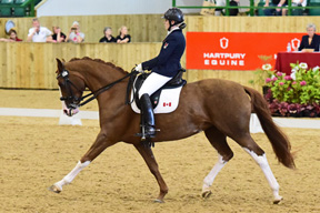 Thumbnail for Roberta Sheffield Makes it Three in a Row at  the Hartpury Festival of Dressage CPEDI3*