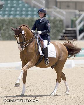 Thumbnail for Canadian Dressage Riders Win Individual Medals at NAJYRC