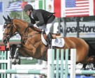 Eric Lamaze and Fine Lady 5 won the $33,500 ATCO Energy Solutions Cup at the Spruce Meadows North American. Photo by Spruce Meadows Media Services