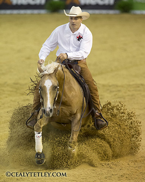 Thumbnail for Canadian Reiner Cody Sapergia Secures Spot in Individual Reining Final at WEG