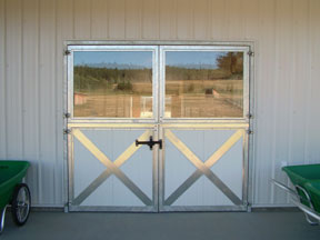 Thumbnail for Double-Dutch-door-with-glass-horse-barn-system-fencingOP