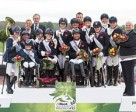 """""""Parabéns"""" - Great Britain, The Netherlands and Germany score their Rio 2016 Paralympic Games team spots at the Alltech FEI World Equestrian Games™ 2014. Photo by Jon Stroud/FEI"""