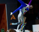 The South African Vaulting squad are a big hit with spectators at the Alltech FEI World Equestrian Games™ 2014 in Normandy. Photo by Jon Stroud/FEI
