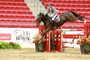 Andres Rodriguez won the $40,000 Kubota Canada & Tractorland Cup at the Royal West.
