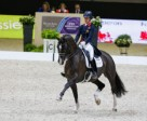 The multiple world-record-breaking British partnership of Charlotte Dujardin and Valegro claimed the Reem Acra FEI World Cup™ Dressage 2014 title at Lyon, France last April. The 2014/2015 Western European League qualifying season begins this weekend at Odense in Denmark. Photo by FEI/Dirk Caremans