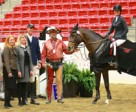 Tamie Phillips won the Norton Rose Fulbright CSI** Cup at the Royal West.