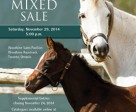 The CTHS Winter Mixed Sale will take place Saturday, November 29th.