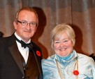 Jan Stephens was named the recipient of Jump Canada's Official of the Year Award for 2014 at the Jump Canada Hall of Fame Gala. Photo by Michelle Dunn