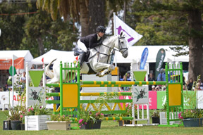 Jessica Manson and Australian Stock Horse Legal Star today won the prestigious FEI Classics™ at the Australian International 3 Day Event in Adelaide. Photo by Julie Wilson/FEI