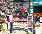 Hans-Dieter Dreher and Embassy ll won the ninth leg of the Longines FEI World Cup™ Jumping 2014/2015 Western European League series on home ground at Leipzig, Germany. Photo by FEI/Karl-Heinz Freiler