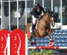 Eric Lamaze, riding Fine Lady 5 for owners Andy and Carlene Ziegler of Artisan Farms LLC, won his fourth consecutive Ruby et Violette WEF Challenge Cup on Thursday, January 29, at the 2015 Winter Equestrian Festival in Wellington, FL. Photo by Sportfot