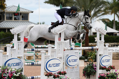 Thumbnail for Eric Lamaze is Sixth in the $85,000 Suncast® 1.50m Championship Jumper Classic at WEF