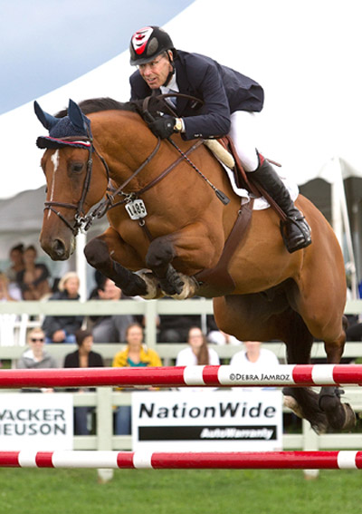 Ten-time Canadian Olympian and local area resident Ian Millar is an advisor to the Ottawa International, which brings show jumping back to the Nation's Capital from June 17 to 21. Photo by Debby Jamroz