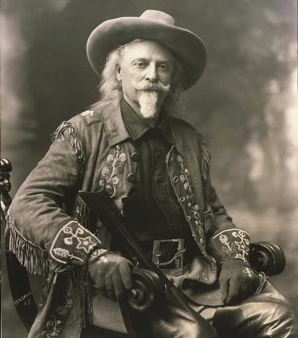 William F Cody, Buffalo Bill, Wild Bill - pony express rdier