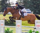 Amy Millar and Heros won the $10,000 Karson Open Welcome on Thursday, June 18, at the Ottawa International Horse Show at Wesley Clover Parks in Ottawa, ON. Photo by Ben Radvanyi Photography