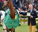 Scott Brash, riding Hello Sanctos, won the first major equestrian event of the year, the Rolex Grand Prix, and his second stage of the Rolex Grand Slam of Show Jumping.