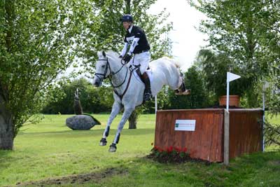 William Fox Pitt and Bay My Hero won the New Cooley Farm CCI1* Young Horse class at Tattersalls.