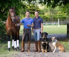 Australian grand prix competitor Nicholas Fyffe (left) and Canadian Olympian David Marcus are opening a new dressage training business based at Stillpoint Farm in Wellington, Florida. Photo by Debra Jamroz