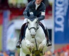 "Scott Brash at the Longines Equestrian Beijing Masters 2014 on his borrowed horse ""Centana"". Photo by Longines Equestrian Beijing Masters/Arnd Bronkhorst"
