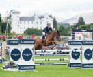 Golden moment: Germany's Michael Jung jumps clear on fischerTakinou to win double gold at the Longines FEI European Eventing Championships at Blair Castle in Scotland (GBR). Photo by Jon Stroud/FEI