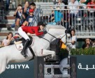Judy-Ann Melchior and As Cold as Ice Z helped Belgium take top spot in today's first round of the Furusiyya FEI Nations Cup™ Jumping Final 2015 at Real Club de Polo in Barcelona (ESP). Photo by FEI/Dirk Caremans
