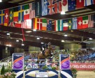Chile's Samuel Parot and Atlantis were last to go in the six-horse jump-off and galloped to victory in the $100,000 Longines FEI World Cup™ Jumping at the Sacramento International Horse Show on Saturday night. Photo by FEI/Erin Gilmore