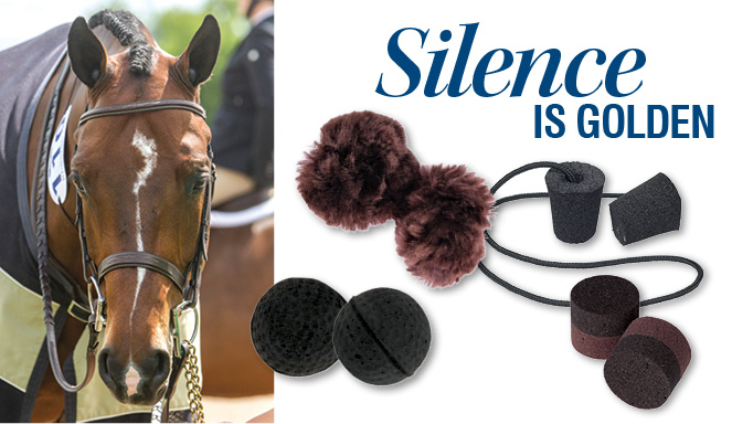 Thumbnail for Silence is Golden: Equine Earplugs