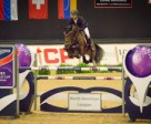 Kent Farrington (USA) and Voyeur claimed the victory at the Longines FEI World Cup™ Jumping qualifier in Kentucky (USA) after producing the fastest round in the jump-off. Photo by FEI/StockImageServices.com