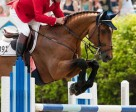 Former Canadian Show Jumping Team horse Mill Creek Raphael, pictured with Eric Lamaze, died on December 27, 2015, at the age of 25. Photo by Cealy Tetley